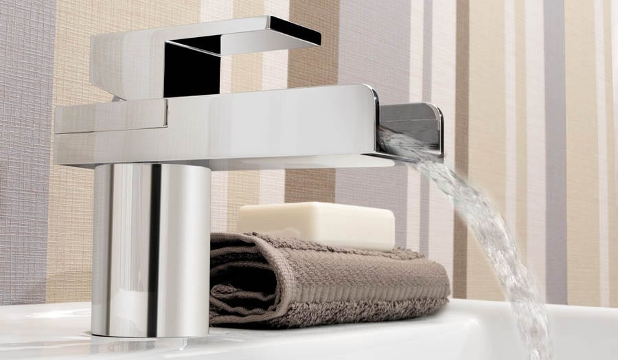 Gallery - Water Square monobloc basin mixer tap by Crosswater