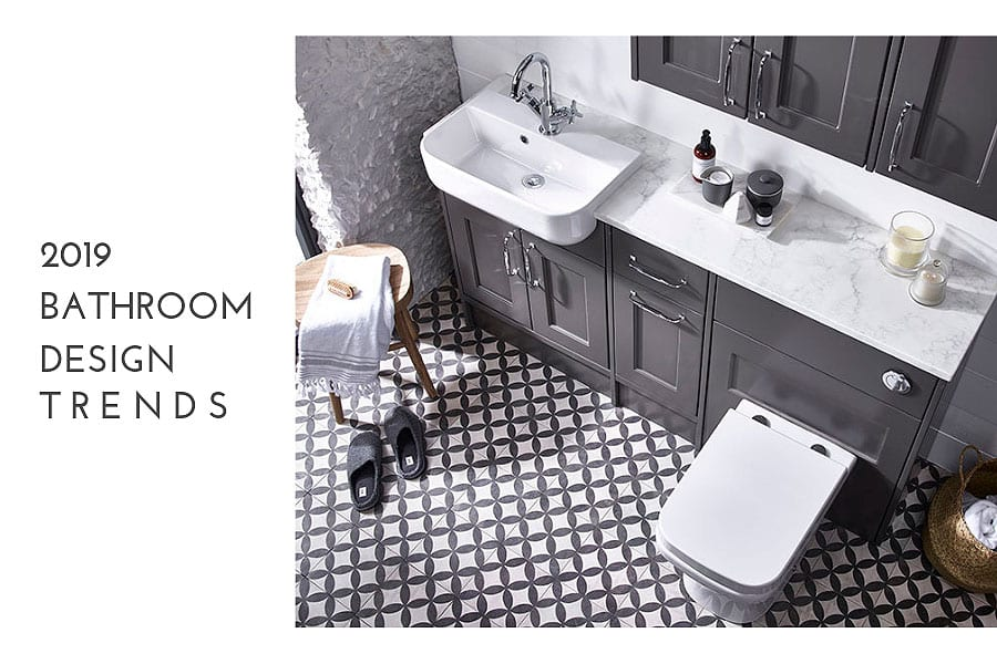 Latest bathroom design trends for 2019