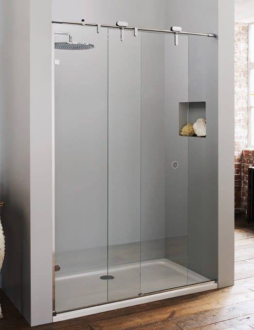 Gallery - Mistley frameless glass sliding shower door