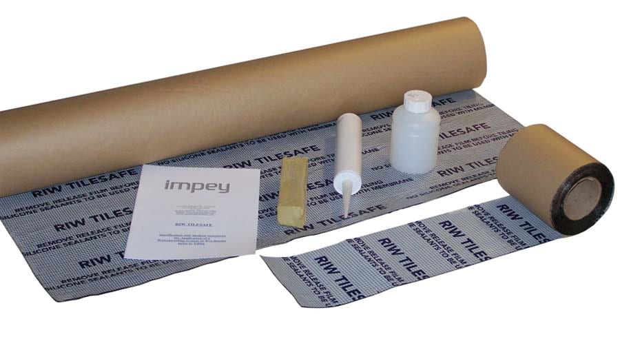 Gallery - Impey Tilesafe wetroom membrane and tanking kit