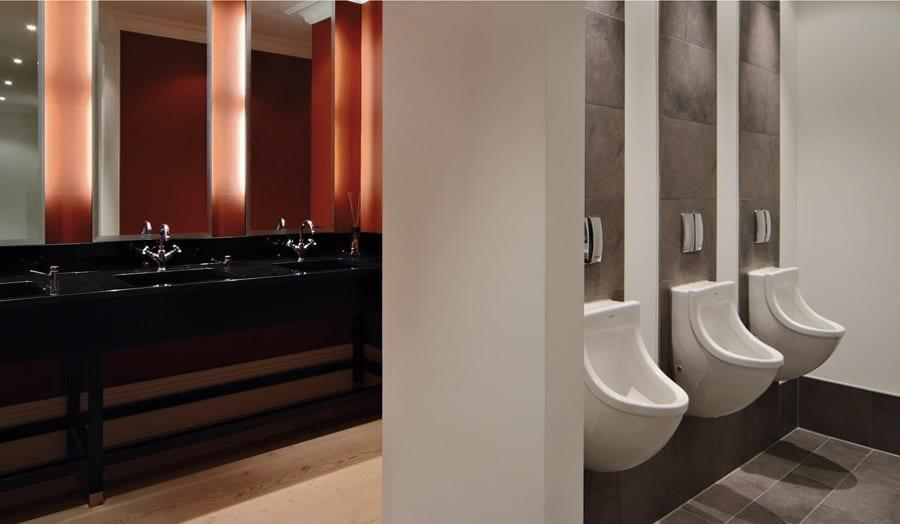 Duravit luxury commercial mens washroom
