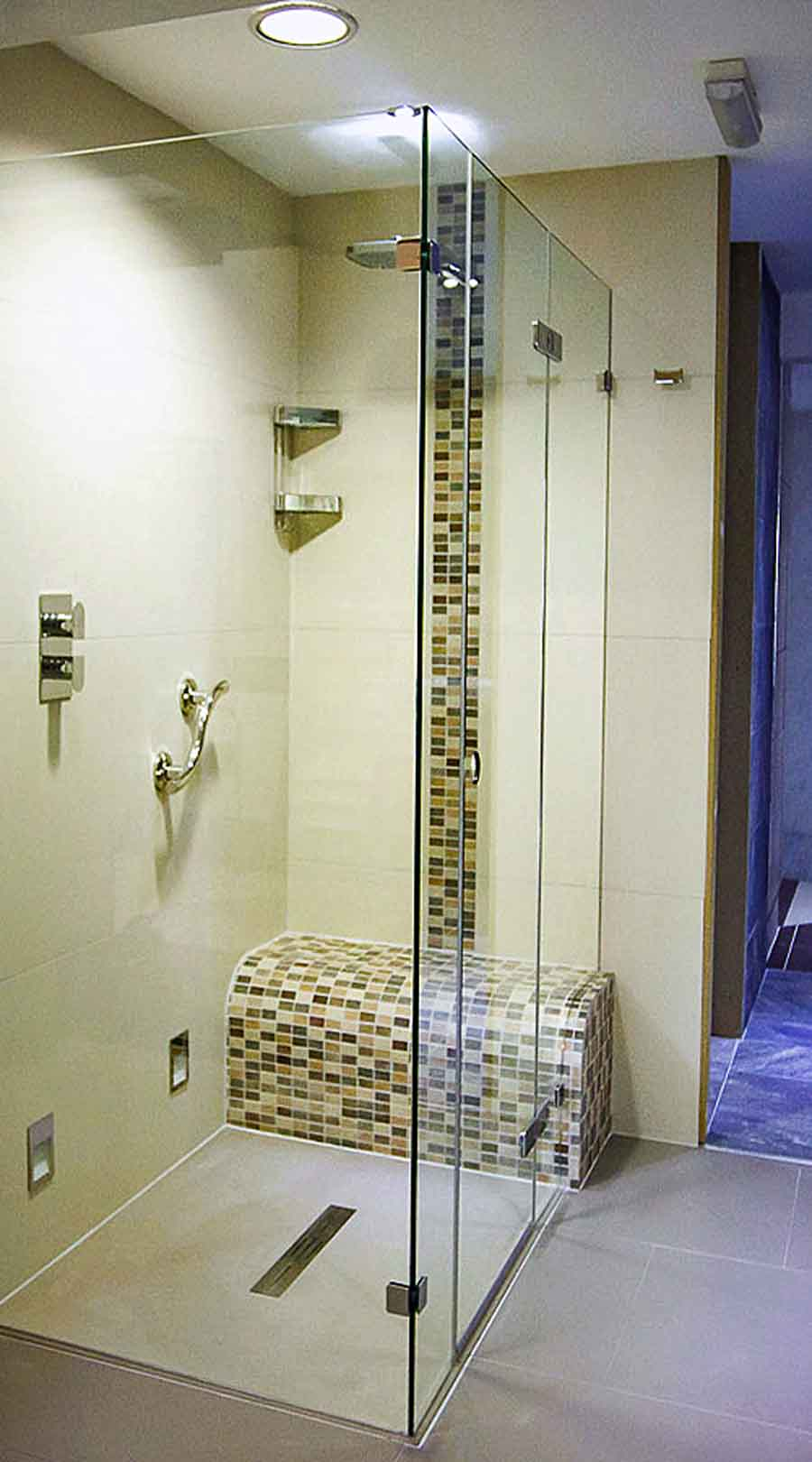Shower enclosures, power showers and shower heads for bathrooms ...
