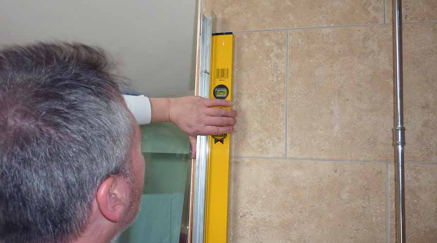A shower enclosure must be carefully and correctly installed to minimise the risk of water leaks