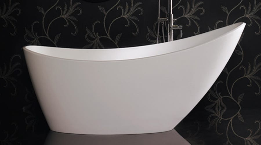 Ashton and Bentley ISIS contemporary style luxury freestanding slipper bath