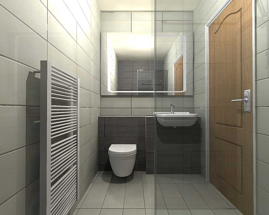 Virtual bathroom design by Room H2o for