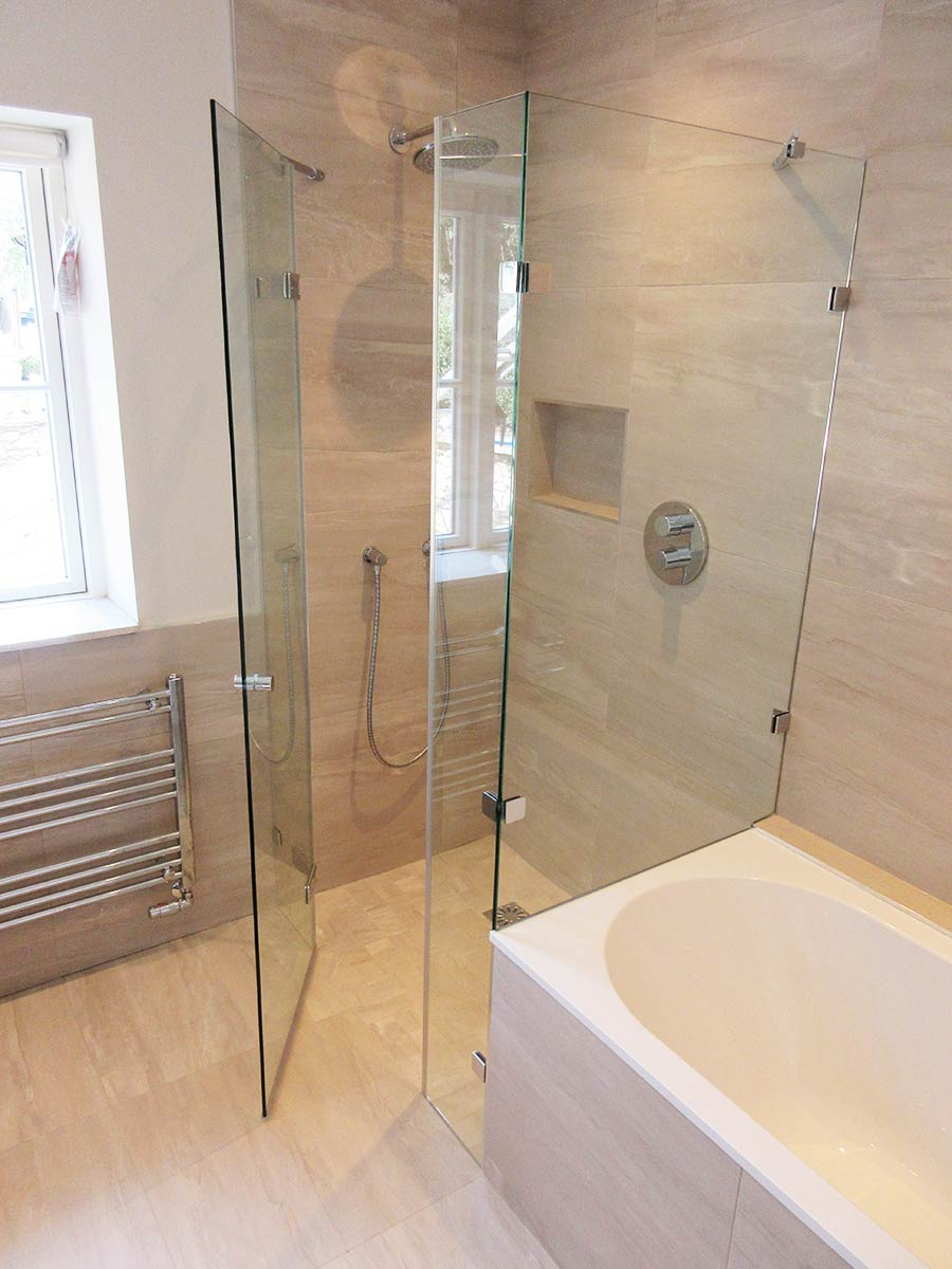 Made To Measure Bespoke Frameless Shower Ideas