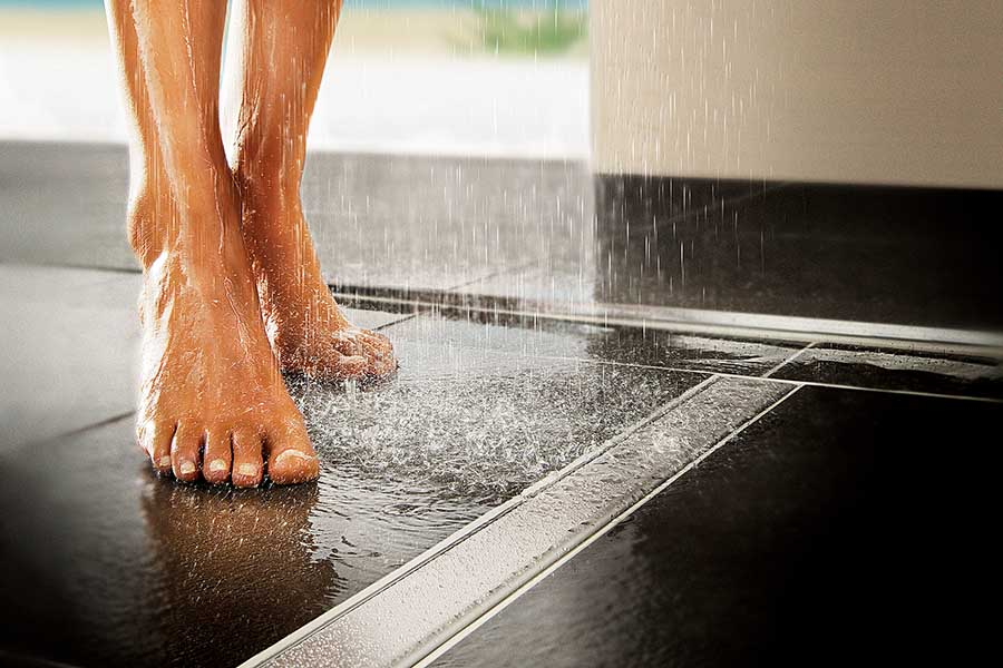 Non Slip Floor Tiles For Safe Stylish Bathroom Design