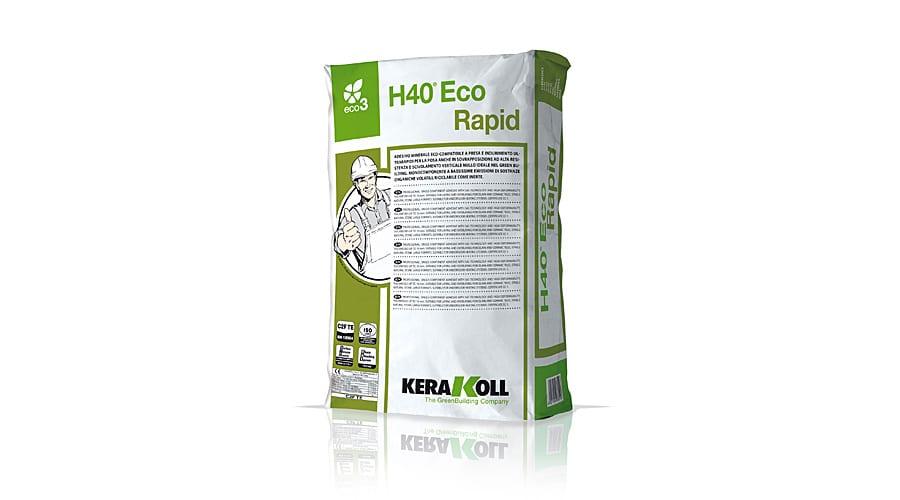 Kerakoll H40 ECO RAPID mineral tile adhesive