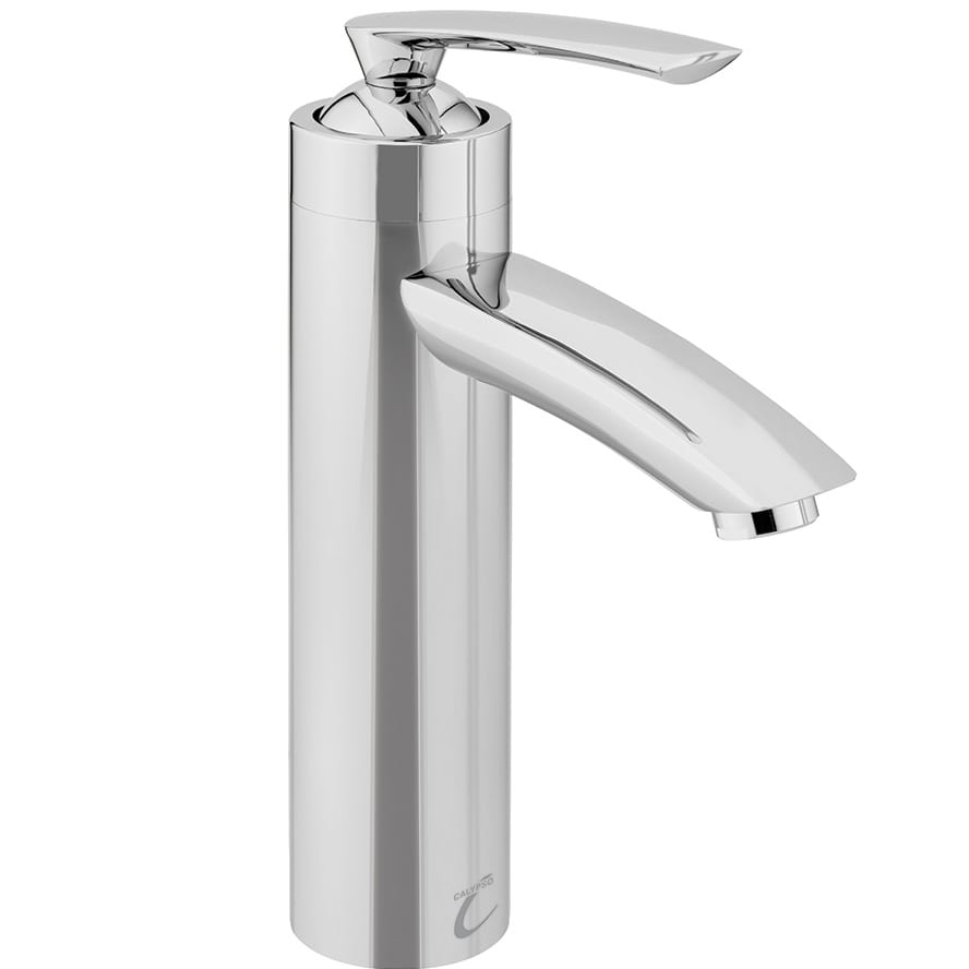 Novaro S2 tall chrome basin mixer tap