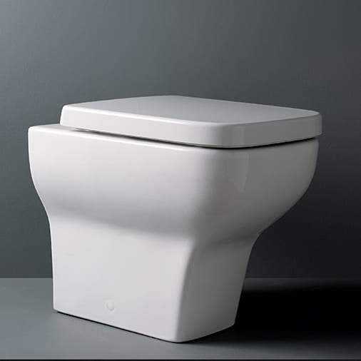 Designer back to wall toilet