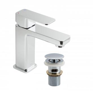 Vado Phase mixer tap with pop up waste