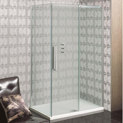Simpsons Ten Single Slider Shower Door TSLSC1200
