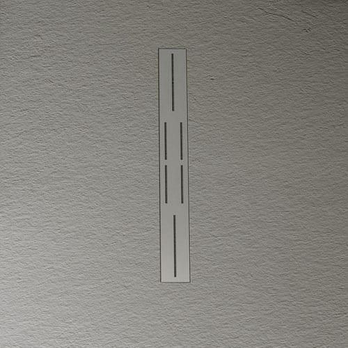 Luxury 20mm shower trays in black slate amp brick finishes