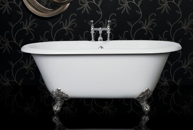 Ashton and Bentley Alessa 1500mm traditional freestanding bath