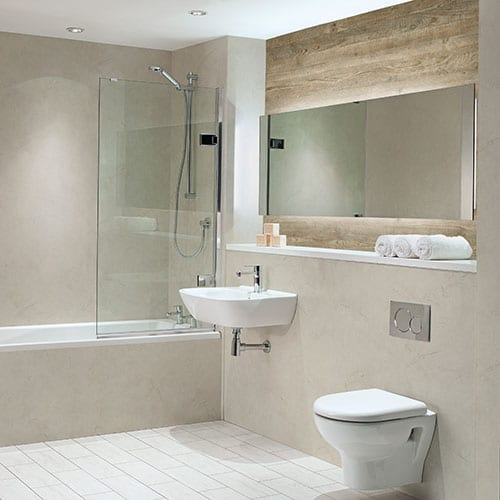Nuance bathroom wall panels shower boards room h2o - Bathroom wall covering instead of tiles ...