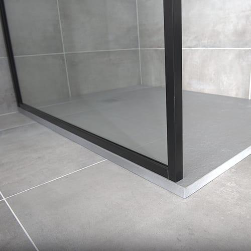 Black Slim Framed Shower Screens By Drench