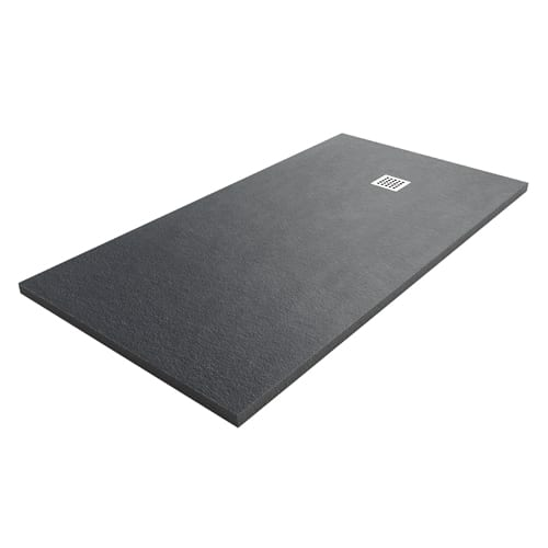 Merveilleux Black Shower Tray Silex Extra Flat